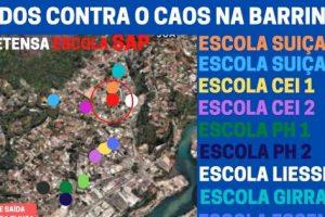 Moradores amigos e Associações de Moradores se mobilizam em defesa da Barrinha