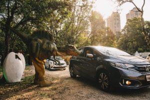 Sem Parar oferece experiência contactless no Jurassic Safari