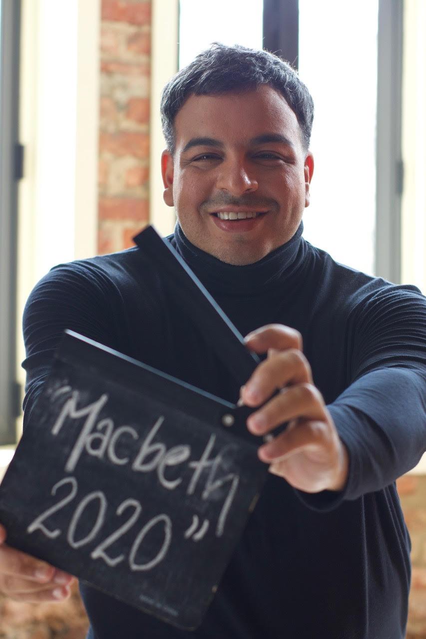 "Luis Lobianco dirige e atua ""Macbeth 2020"""