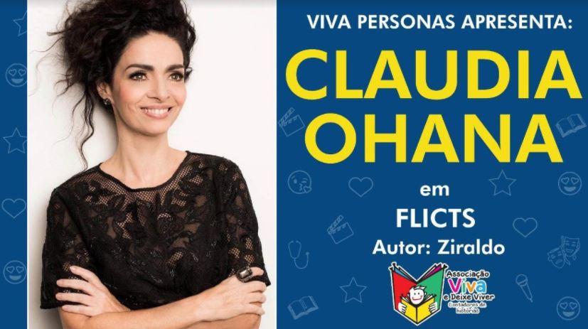 Atriz Claudia Ohana oferece Aulas Online Gratuitas de Interpretação para crianças